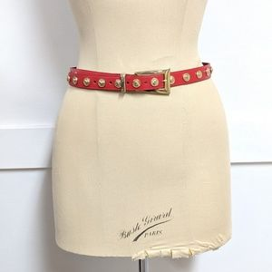 Vintage 1990s Limited Red Belt size 30